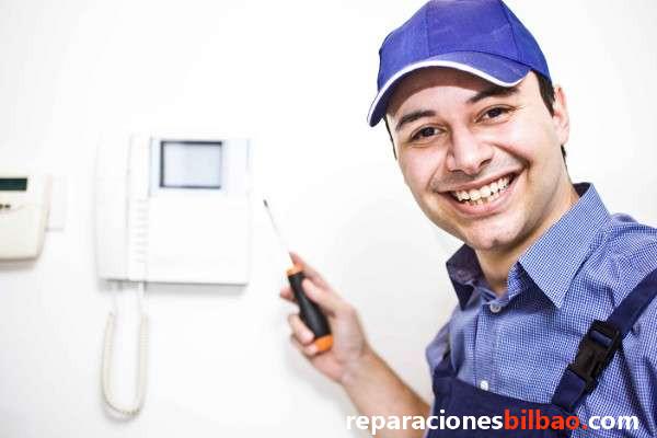 reparacion videoporteros baratos bilbao