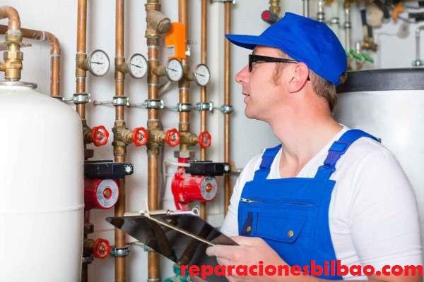 reparar caldera gas bilbao