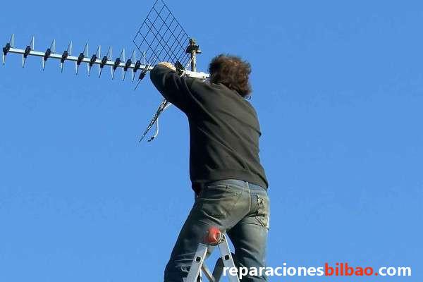 antenas para tv bilbao