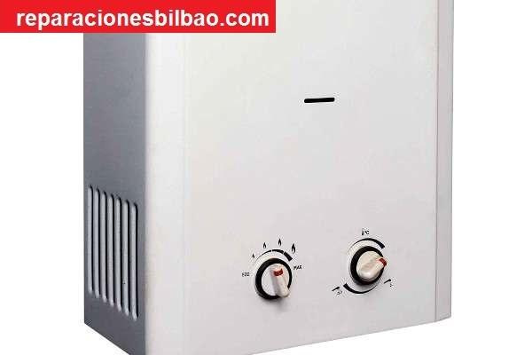 ofertas calentadores a gas Bilbao