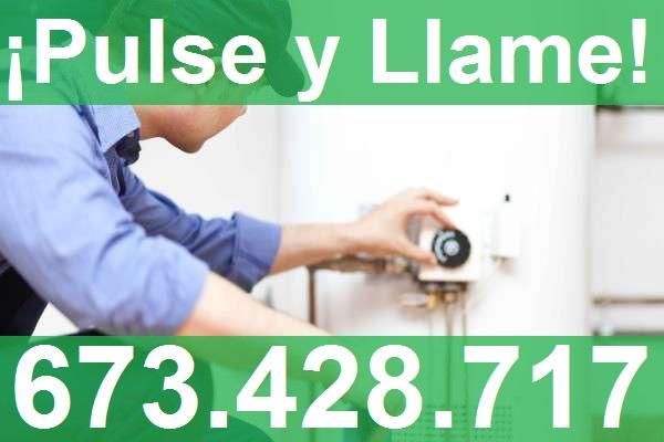 reparación calderas gas Portugalete